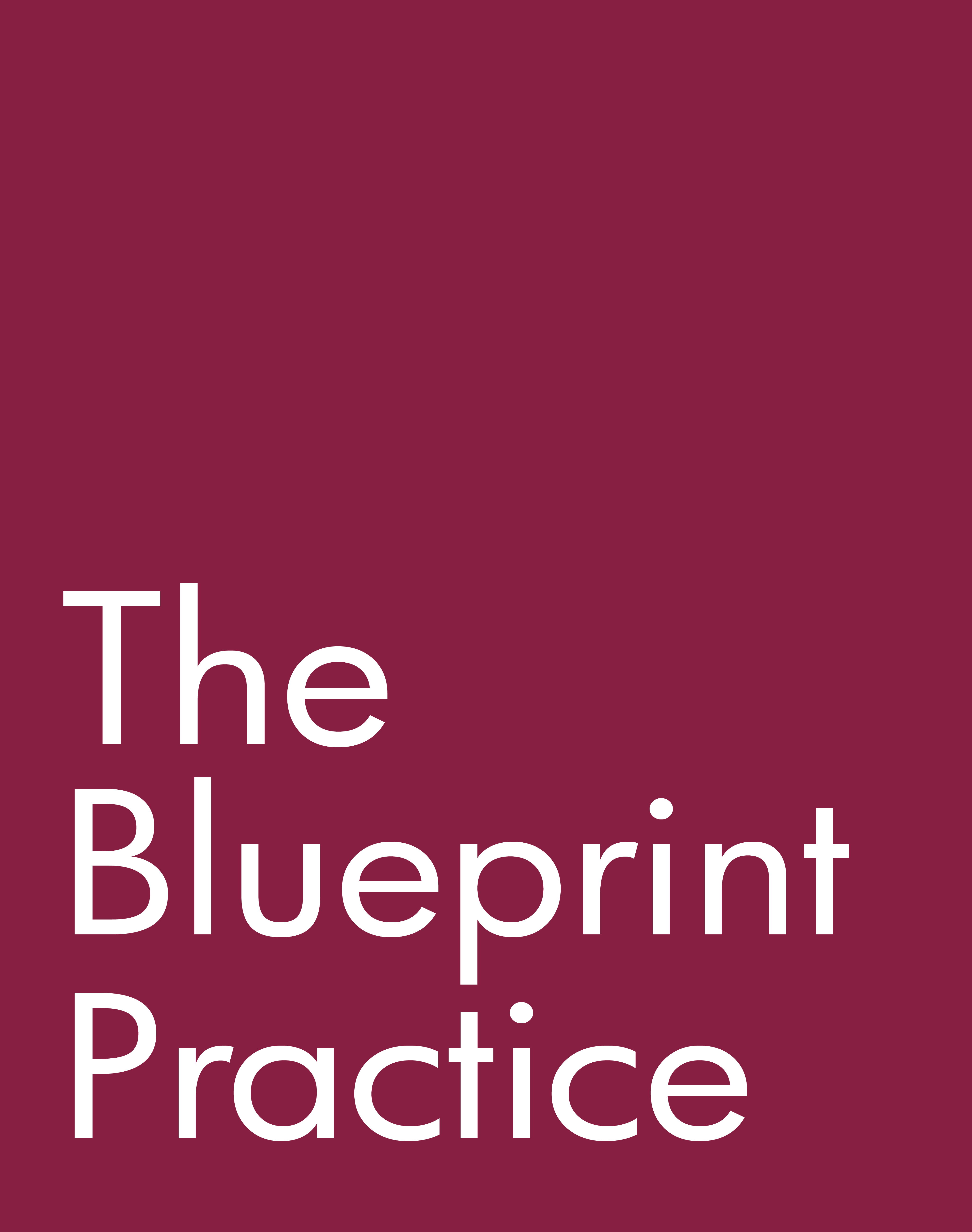 The Blueprint Practice